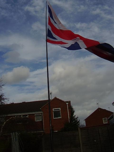 5m Telescopic Flag Pole The Flagman