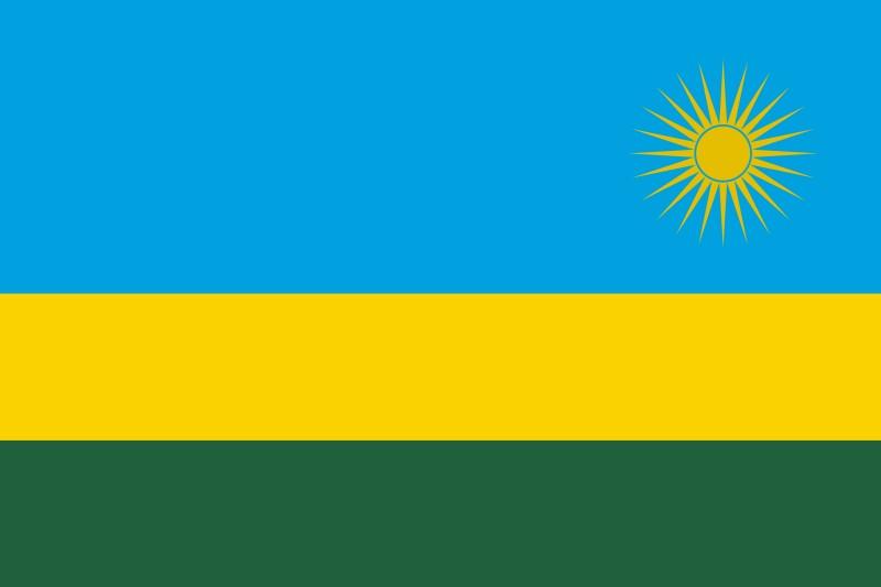National Flag Of Rwanda The Flagman