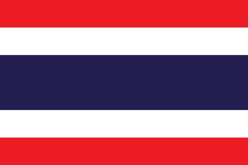 National Flag Of Thailand The Flagman