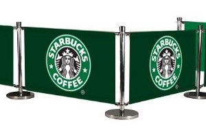 cafe banner..Starbucks