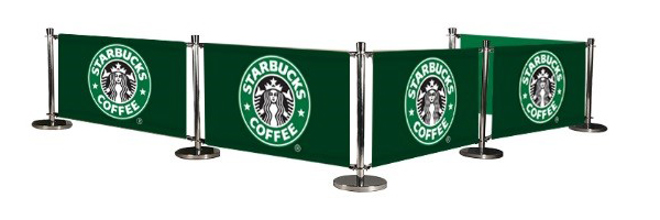 Cafe Banner Example Starbucks Price On Application The