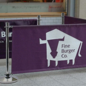 cafe barrier..burger