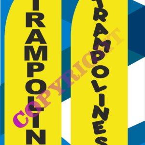 trampolines 4.1m ali pole