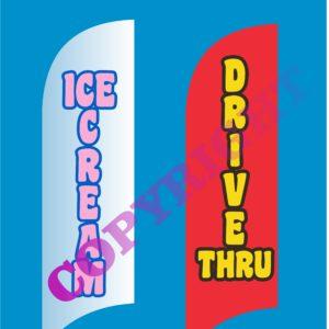 drive thru-ice cream