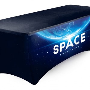table cloth.stretch.space mountain